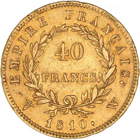 40 francs Napoléon Ier - 1810 W