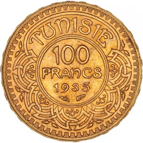 Tunisie - 100 francs 1935