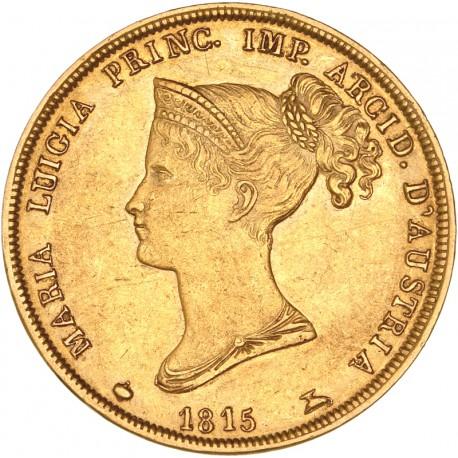 Italie - Parme - 40 Lires Marie Louise 1815 Milan