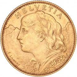 Suisse - 10 francs 1914 B