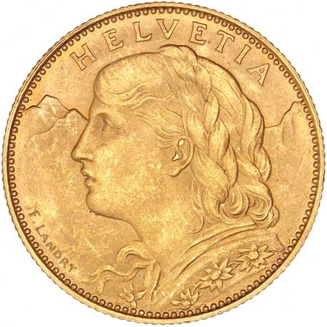 Suisse - 10 francs 1922 B