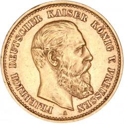 Allemagne - Prusse - 10 mark 1888