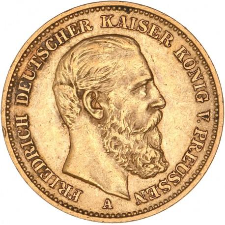 Allemagne - Prusse - 20 mark 1888