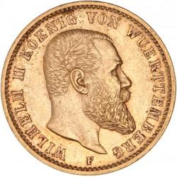 Allemagne - Wurtemberg - 20 mark 1900