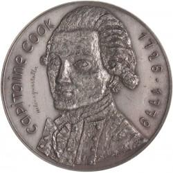 Médaille du Capitaine Cook 1991