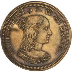 Jeton de Nuremberg - Louis XIV et Marie Thérèse
