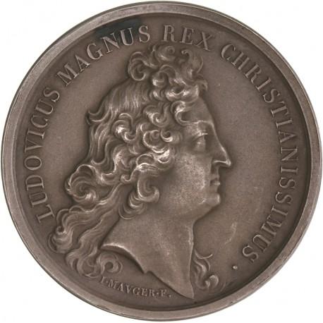Médaille argent Louis XIV - Lycée Louis le Grand