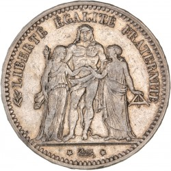 5 francs Hercule 1873 K