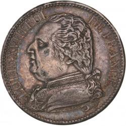 5 francs Louis XVIII 1814 A