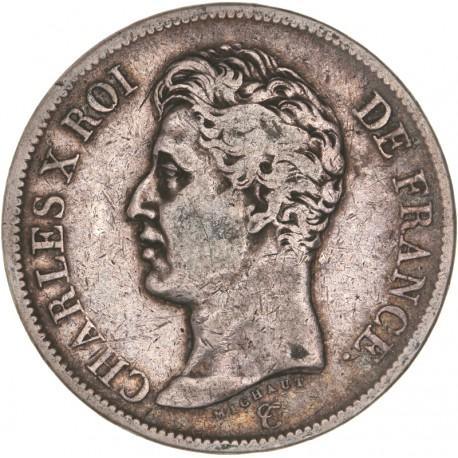 5 francs Charles X 1825 MA