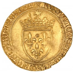 Louis XI - Ecu d'or au soleil - Tours