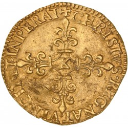 Charles IX - Ecu d'or 1566 Bordeaux