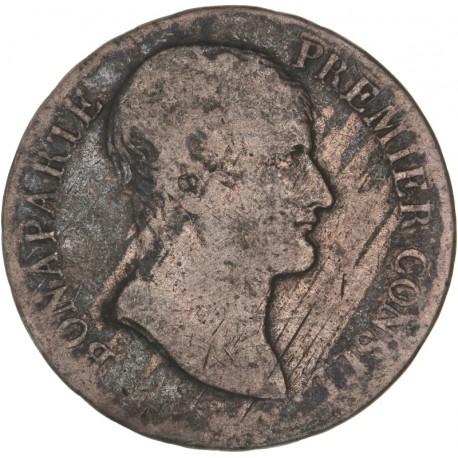 5 francs Bonaparte 1er Consul  AN 12 M
