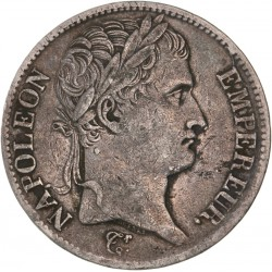 5 francs Napoléon Ier 1812 M