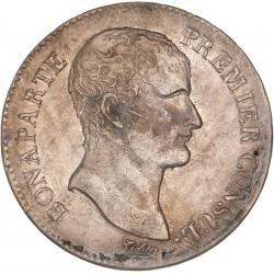 5 francs Bonaparte 1er Consul  AN 12 A