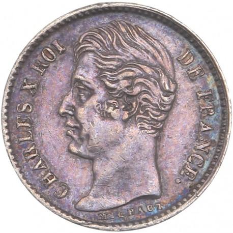 Quart de  franc Charles X 1827 A