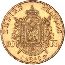 50 francs Napoléon III 1864 A