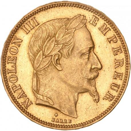 50 francs Napoléon III 1867 BB