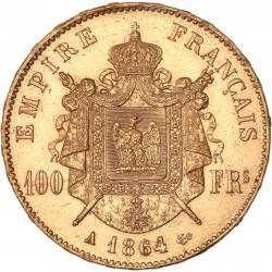 100 francs Napoléon III - 1864 A