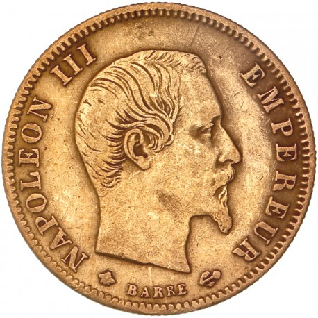 5 francs Napoléon III 1859 BB