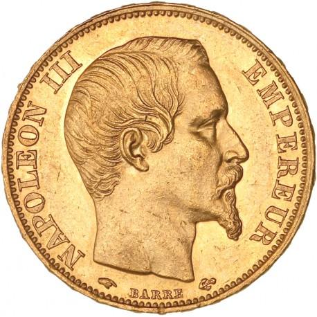 20 francs Napoléon III - 1859 A