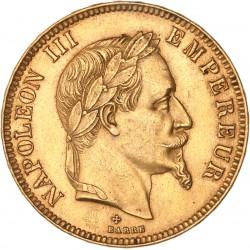 100 francs Napoléon III - 1869 BB