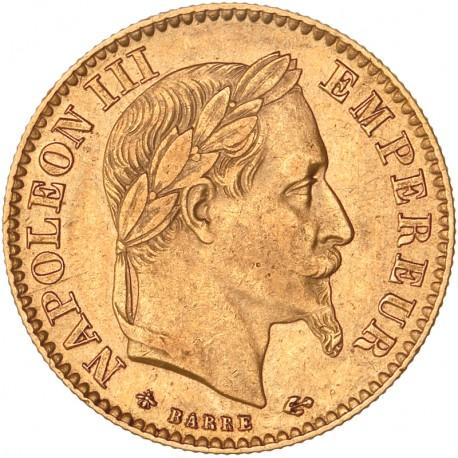 10 francs Napoléon III 1868 A Paris