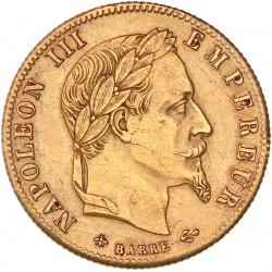 5 francs Napoléon III 1866 A