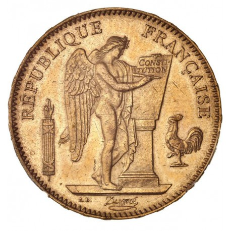 50 francs Génie 1878 A
