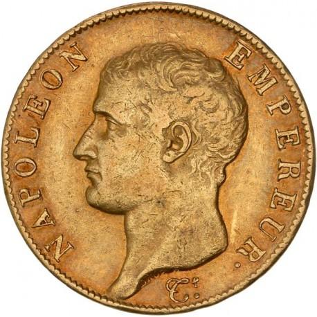 40 francs Napoléon Ier AN 13 A