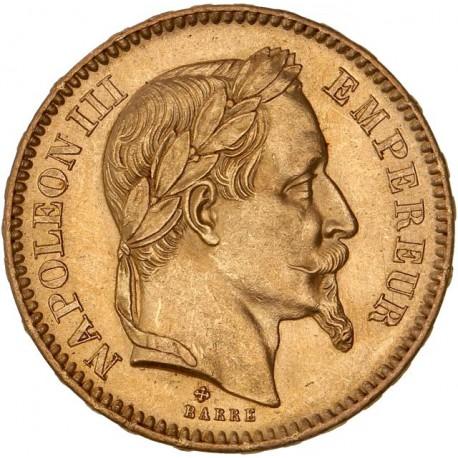 20 francs Napoléon III - 1866 BB