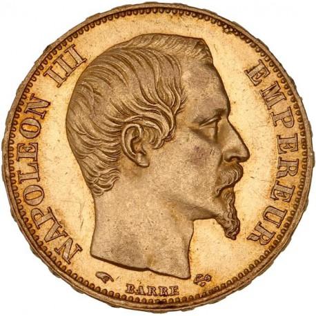 20 francs Napoléon III - 1855 A