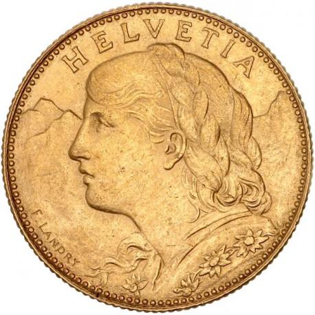 Suisse - 10 francs 1911 B