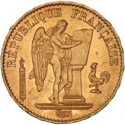 20 francs Génie 1878 A