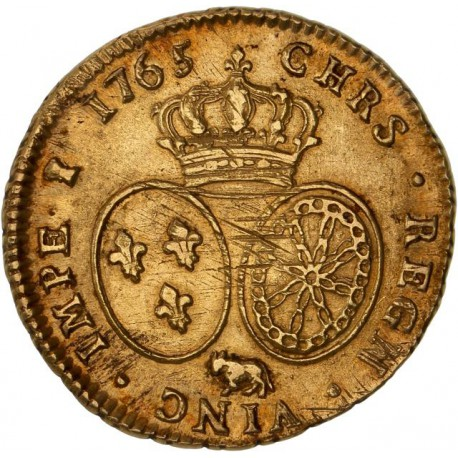 Louis XV - Double Louis d'or 1765 Pau