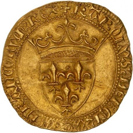 Charles VI - Ecu d'or - Limoges