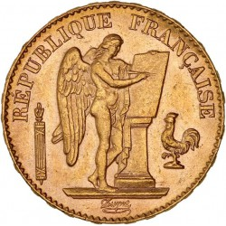 20 francs Génie 1898 A