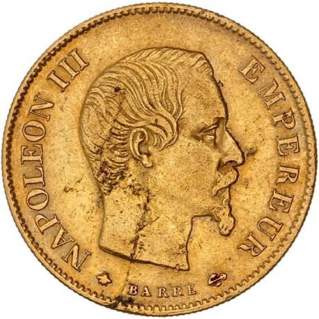 10 francs Napoléon III 1858 BB
