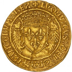 Louis XII - Ecu d'or au porc-épics - Montpellier