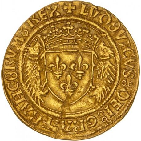 Louis XII - Ecu d'or au porc-épics - Montpellier