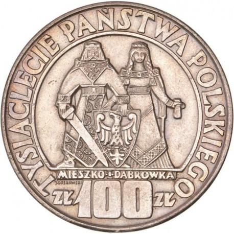 Pologne - 100 Zlotych 1966
