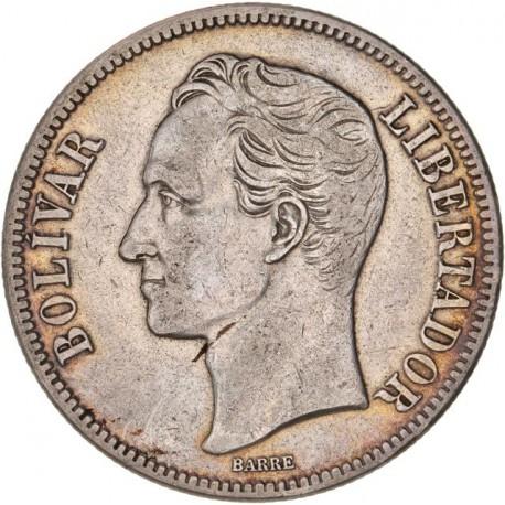 Vénézuela - 5 Bolivar 1929