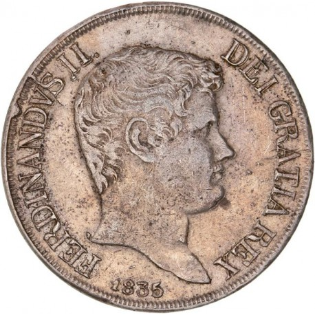 Italie - Les deux siciles - 120 grana  1835