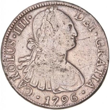 Mexique 8 réales 1796