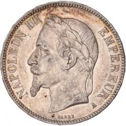 5 francs Napoléon III 1867 BB