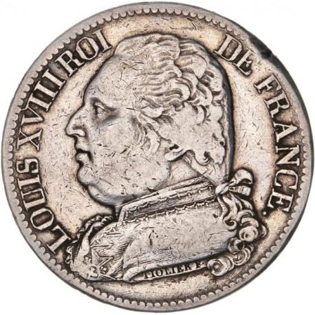 5 francs Louis XVIII 1815 B