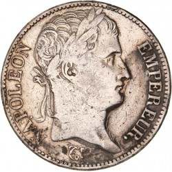 5 francs Napoléon Ier 1811 A