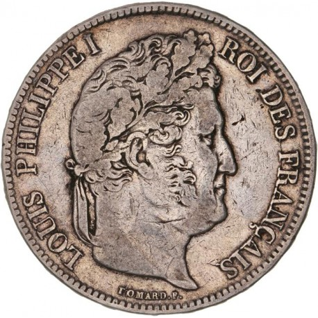 5 francs Louis Philippe Ier 1838 MA