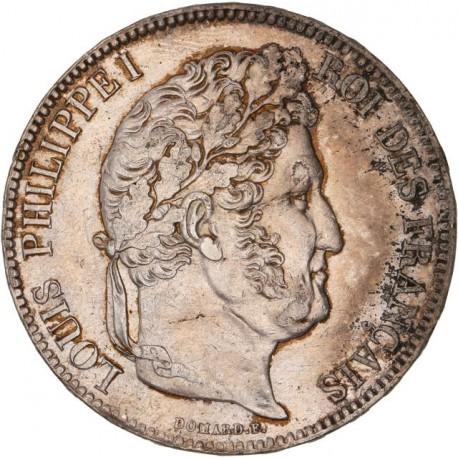 5 francs Louis Philippe Ier 1834 W Lille