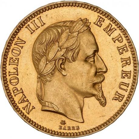 100 francs Napoléon III 1866 A